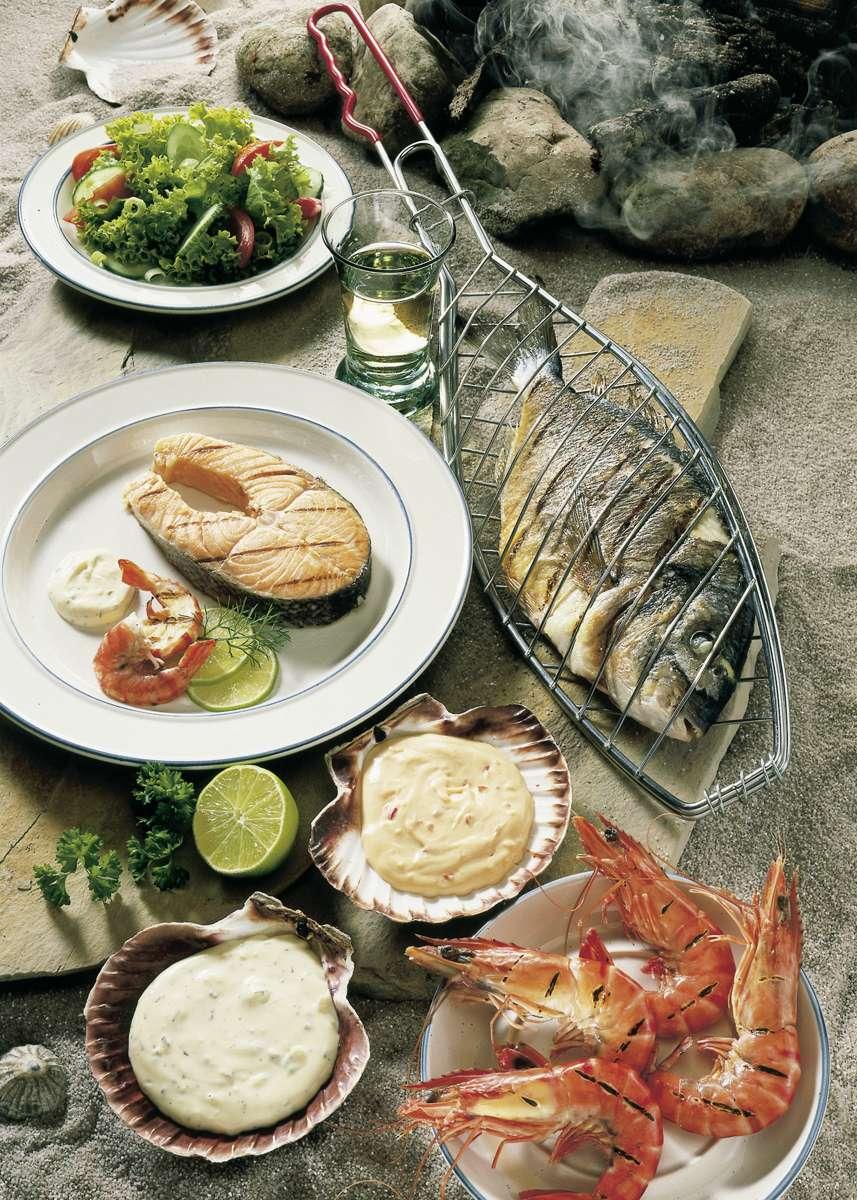 Leichte Fischgerichte Foto: Wirths PR