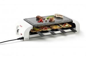 "Das Multifunktionsgerät ""for8"" kann man für 169,95 Euro unter www.raclette.de bestellen."